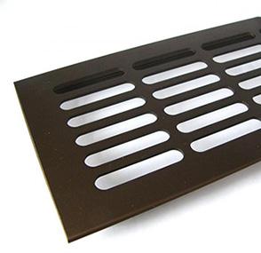 F4 Bronz színű alumínium szellőzőrács