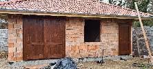 Fából készült pajta ajtók